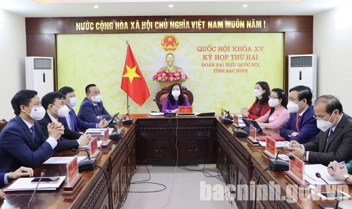 Quốc hội khóa XV khai mạc trọng thể Kỳ họp thứ hai
