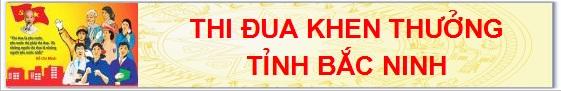 Thi đua - Khen thưởng tỉnh Bắc Ninh
